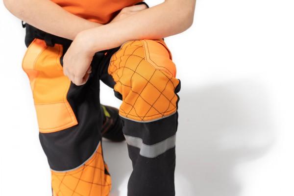 prešité a spevnené kolená