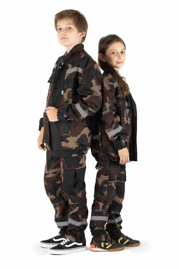 Maskáčová súprava pre chlapcov aj dievčatá, bunda + nohavice (941111)