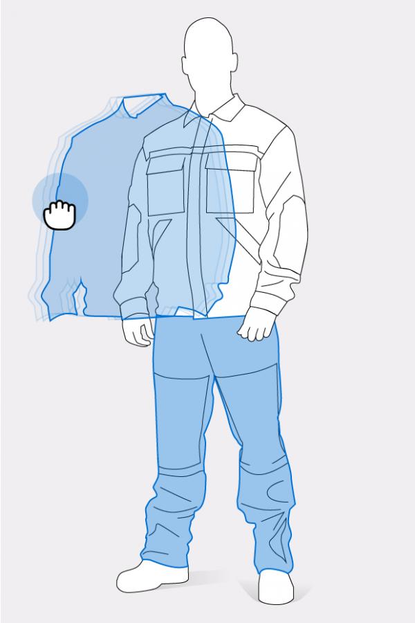 Pracovný odev podľa požiadaviek (ušitý na mieru)